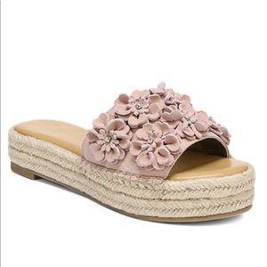 Carlos Santana chandler pink sandals